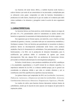 cultivos lácticos - La Anunciata Ikerketa
