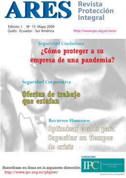 15. Mayo 2009 (Revista ARES May_09 )