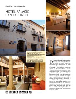 HOTEL PALACIO SAN FACUNDO