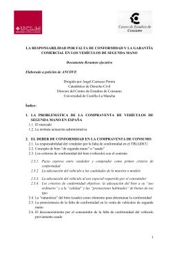 resumen ejecutivo - Blog UCLM - Universidad de Castilla