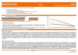Informe Carteras de pensiones 2015 completo