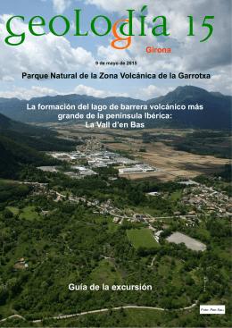 La formación de lago de barrera volcánico más grande de la