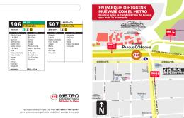 PARQUE O`HIGGINS - Metro de Santiago