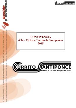 dossier - Club Ciclista Currito de Santiponce