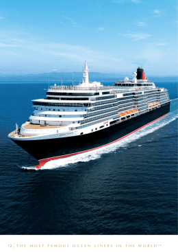 The most famous ocean liners in the world t m