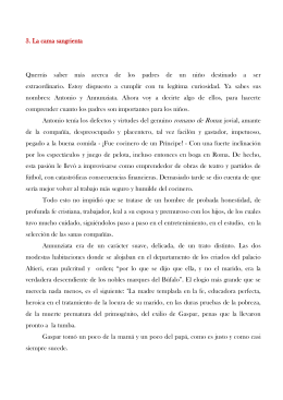La Cama Sangrienta - Saint Gaspar College