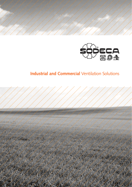 Industrial and Commercial Ventilation Solutions