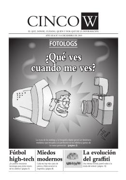 CincoW N° 8 Descargar PDF - Universidad Católica Argentina