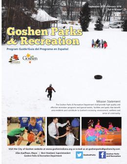 Goshen Parks & Recreation