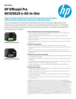 HP Officejet Pro 8610/8620 e-All-in-One
