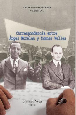 Correspondencia Angel morales- S welles