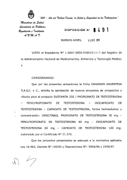 Disposición 8491 - 11