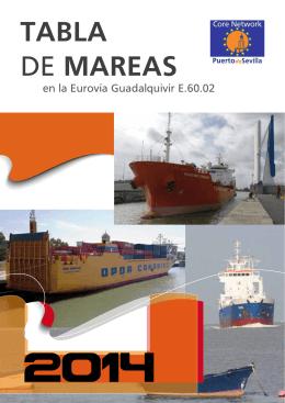 TABLA DE MAREAS - Autoridad Portuaria de Sevilla