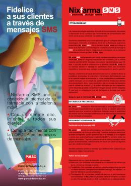 Nixfarma SMS