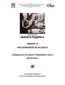 Halogenuros de alquilo: Propiedades, usos y aplicaciones