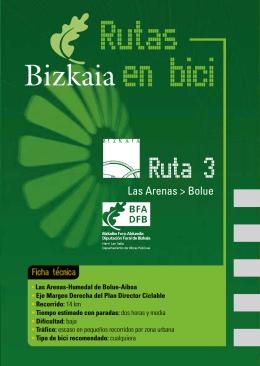 Rutas en bici: Ruta 3 Las Arenas - Bolue