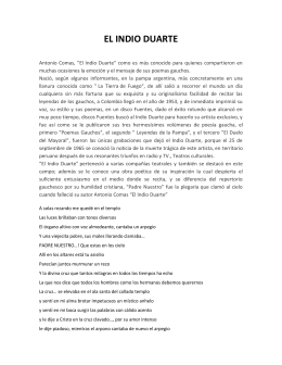 EL INDIO DUARTE - Fundación Cultura Vallenata