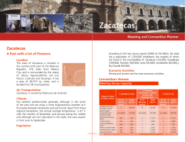 Zacatecas - Mexico Tourism Board