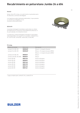 Recubrimiento en poliuretano Jumbo 24 a 604