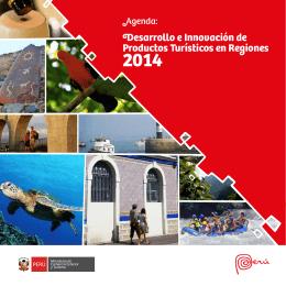 Agenda: Desarrollo e Innovación de Productos Turísticos en