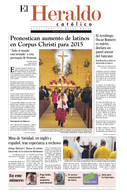 Febrero 2015 - El Heraldo Catolico