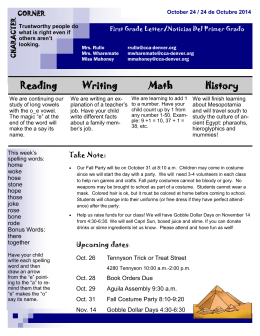 Reading Writing Math History
