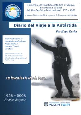 Diario del Viaje a la Antártida 1958