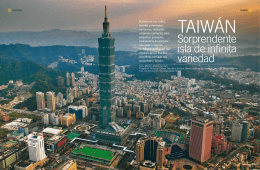 TAIWAN : Sorprendente isla de infinita variedad