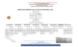 DIRECCION GENERAL DE LA POLICIA NACIONAL CIVIL