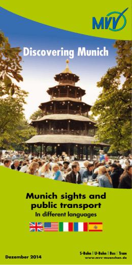 Discovering Munich - MVV