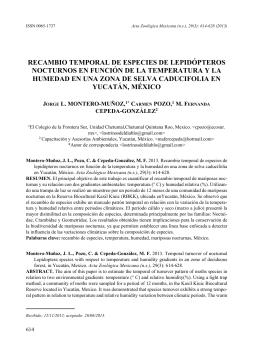 Montero-Muñoz, J. L., Pozo, C. & Cepeda-González, M. F.