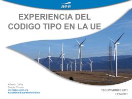 Alberto Ceña. AEE - Asociación Empresarial Eólica