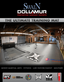 Mixed Martial arts • Fitness • law enForceMent • Military