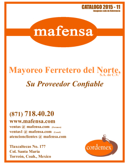 Mayoreo Ferretero del Norte, SA de CV