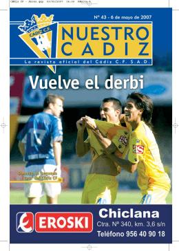 Nº 43 - Cádiz CF