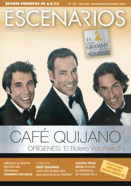 REVISTA PORTAVOZ DE A.R.T.E. CaFÉ QuiJano