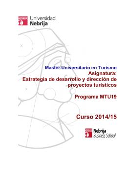 Programa Dirección y evaluación de proyectos