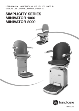 Minivator Slide Track - Making Your Life Accessible
