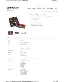 Viotech 3200+ Versión 6.x