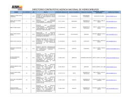 Directorio Contratistas 2014