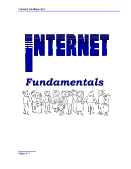 Internet Fundamentals