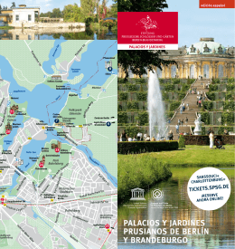 palacios y jardines prusianos de berlín y brandeburgo