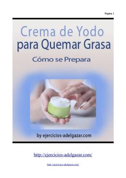 Como preparar crema de yodo casera