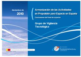 Grupo de Vigilancia Tecnológica Armonización de las Actividades
