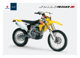 Catalogo RMX450Z