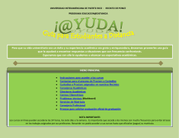 Guia para Estudiantes @ Distancia