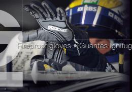 Fireproof gloves • Guantes ignífugos • Luvas