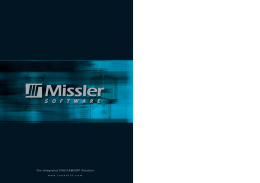 Missler Software Corporate 2007