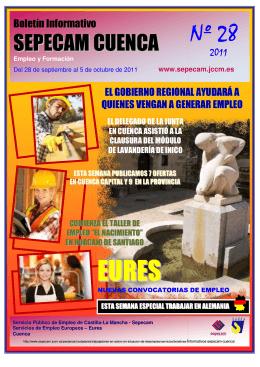 Nº 28 - Empleo y Formación - Junta de Comunidades de Castilla
