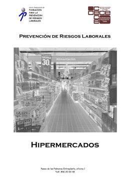 Prevención de riesgos laborales en Hipermercados